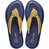 Chitobae Hand-Braided Women's Flip-Flops, Sandals for Summer (10 M US, Gold Yellow)