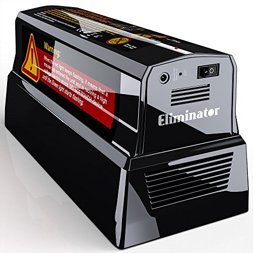 Eliminator™ Electronic Rat and Rodent Trap - Efficient