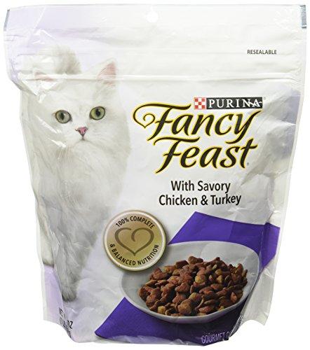 Fancy Feast Gourmet - Savory Chicken And Turkey Formula - 1 Lb (Fancy Feast Cat Food Dry)