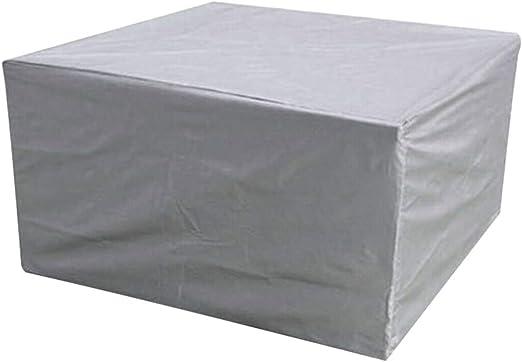 Cicony Juego de Fundas para Muebles de Patio, Exteriores, Mesa de jardín, sofá, Protector de Muebles Resistente al Agua, 59 x 59 x 30 Pulgadas: Amazon.es: Jardín
