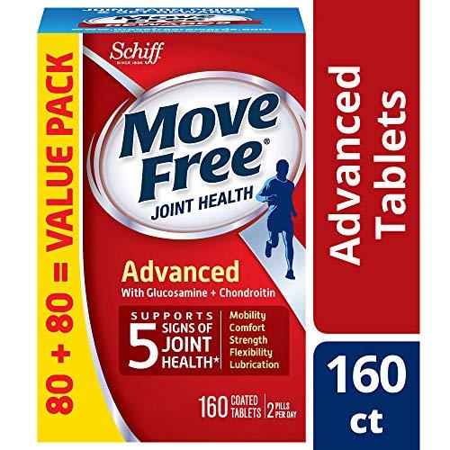 Move Free 强效 葡萄糖胺软骨素和透明质酸