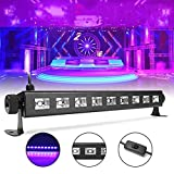 YPINGLI 27W 385NM UV Auto Color Changing LED Stage Light for Bar Disco Party Club Christmas LED Lights