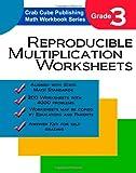 Reproducible Multiplication Worksheets, Crab Cube Publishing, 1456582011