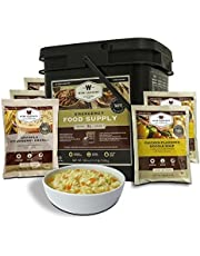 Wise Company Emergency Freeze Dried Breakfast and Entrée Bucket - 84 Servings