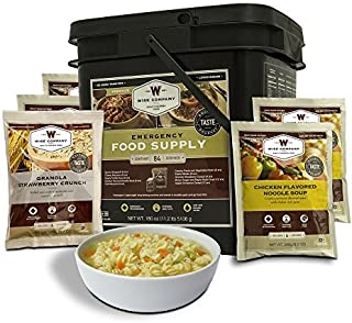 product image for Wise Company Emergency Freeze Dried Breakfast and Entrée Bucket - 84 Servings