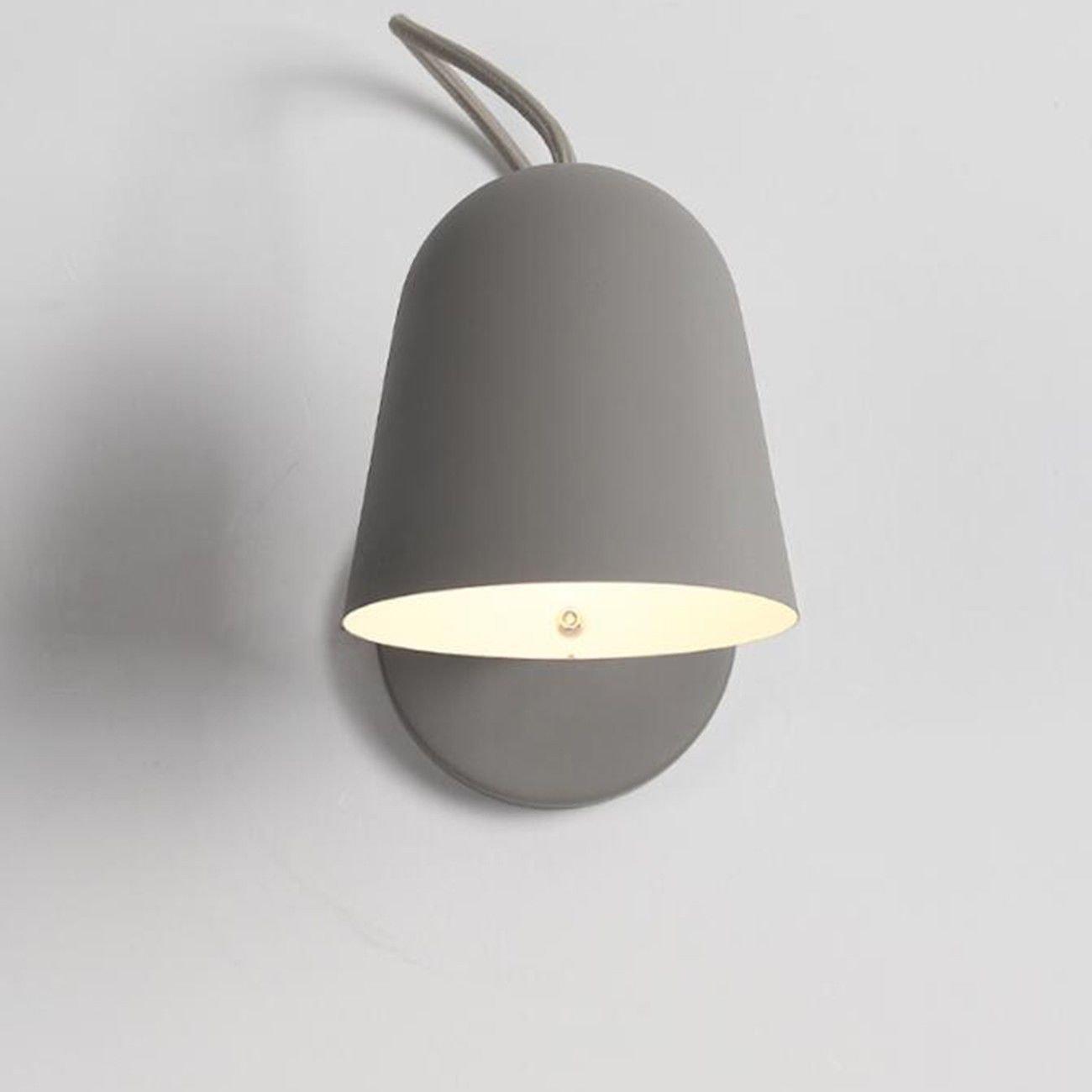 Pouluuo Des Schlafzimmer-Wandlampe modernen minimalistischen Hintergrundwandlampe-Wohnzimmer-Gangs kreative Nachttischlampe a