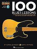 100 Blues Lessons Bass lesson Goldmine Series + Audio Access.
