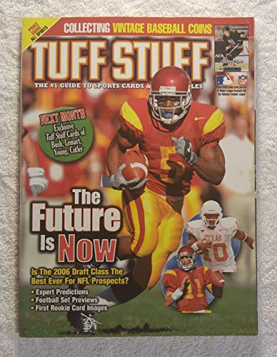 Reggie Bush - USC Trojans - Is The 2006 Draft Class The Best Ever for NFL Prospects? - Tuff Stuff Magazine - May 2006 - Collecting Vintage Baseball Coins