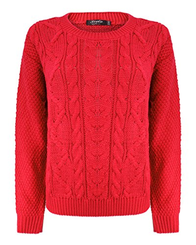 Generation Fashion - Jerséi - suéter - para mujer Rosso