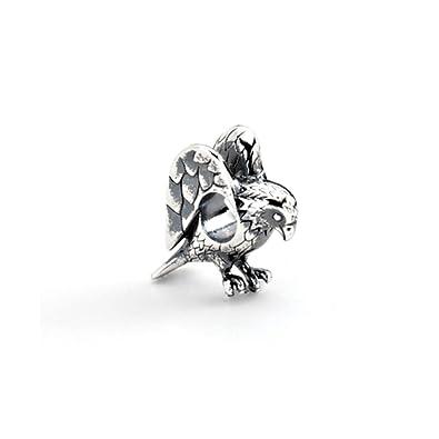 1f6dfee9d denmark sterling silver eagle bead charm b38b8 8abd2