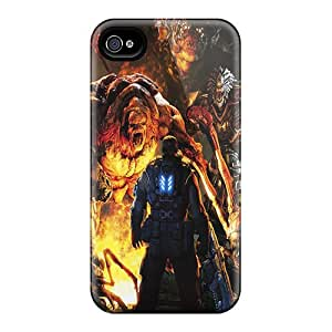 Bumper Hard Phone Case For Iphone 6plus (QIW7103eYkA) Custom Lifelike Gears Of War 3 Pictures
