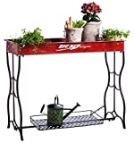 Evergreen Big Red Wagon Potting Table