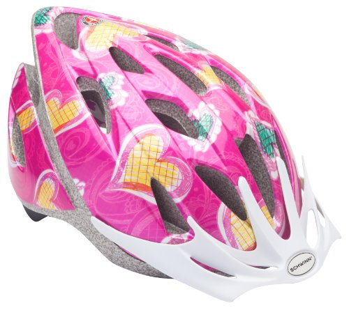 Schwinn Girl's Thrasher Microshell Helmet (Child Bike Helmet)