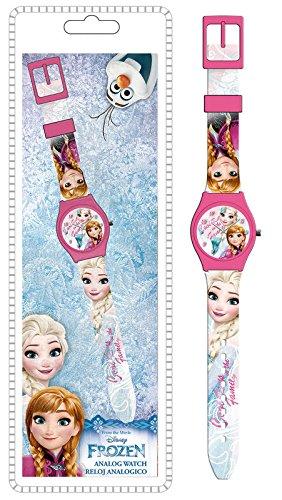 Reloj de pulsera analogico de Frozen (12/48): Amazon.es: Juguetes y juegos