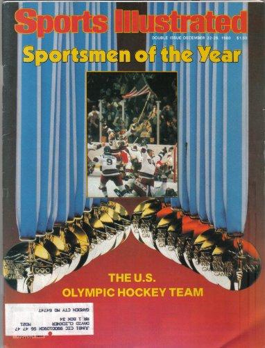 - Sports Illustrated Magazine (Sportsmen of the Year..The U.S. Olympic Hockey Team, December 22-29 , 1980)