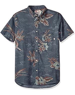 Men's Parrot Jungle Short Sleeve Shirt
