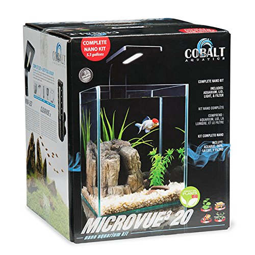 Cobalt Aquatics Microvue3 Aquarium Kit 20 by Cobalt Aquatics