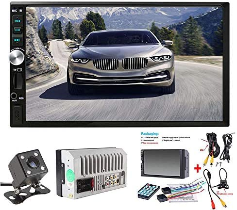 Doble DIN estéreo para Coche, Pantalla táctil de 7 Pulgadas, Radio de Coche MP3/MP5/FM, Compatible con Bluetooth/USB/TF con Mando a Distancia … (COLOR1): Amazon.es: Electrónica