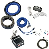Kicker CK8 8-Gauge Amplifier Kit with KISLOC Line Output Converter for Factory Radio Integration