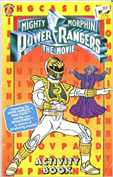 mighty morphin power rangers the movie coloring and
