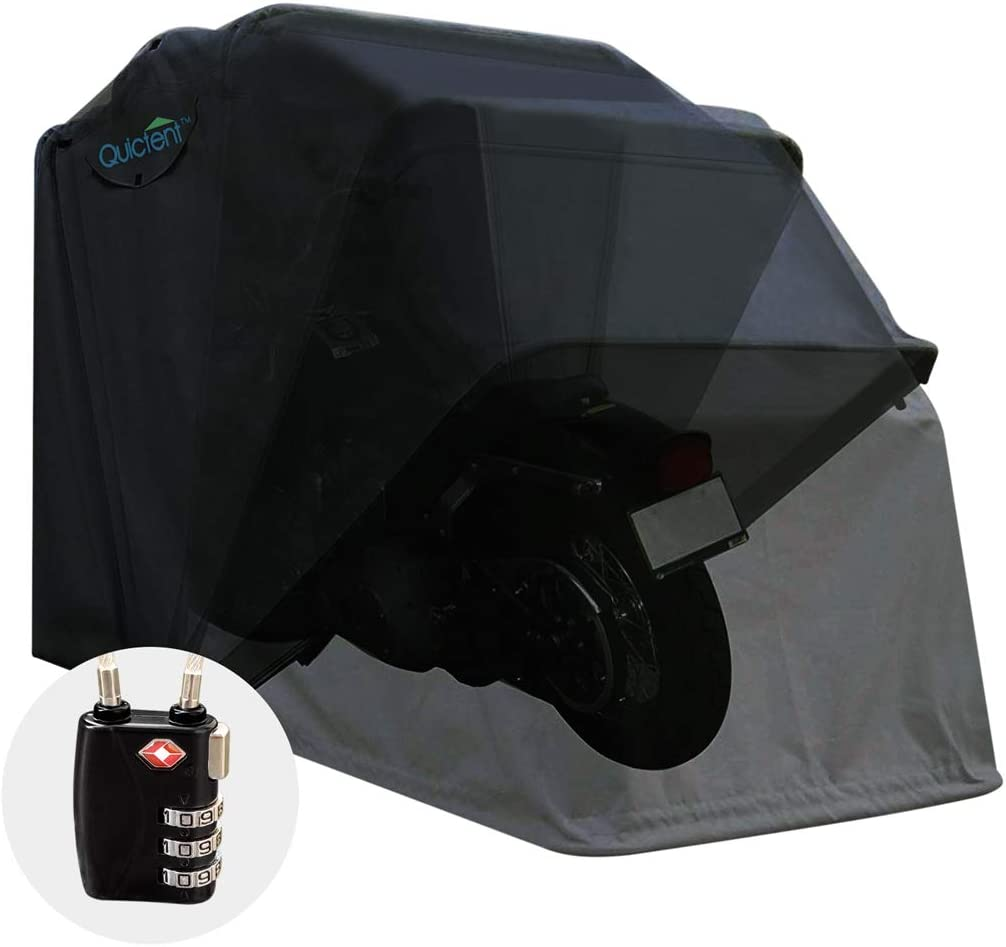 Quictent Heavy Duty Motorcycle Shelter Tent