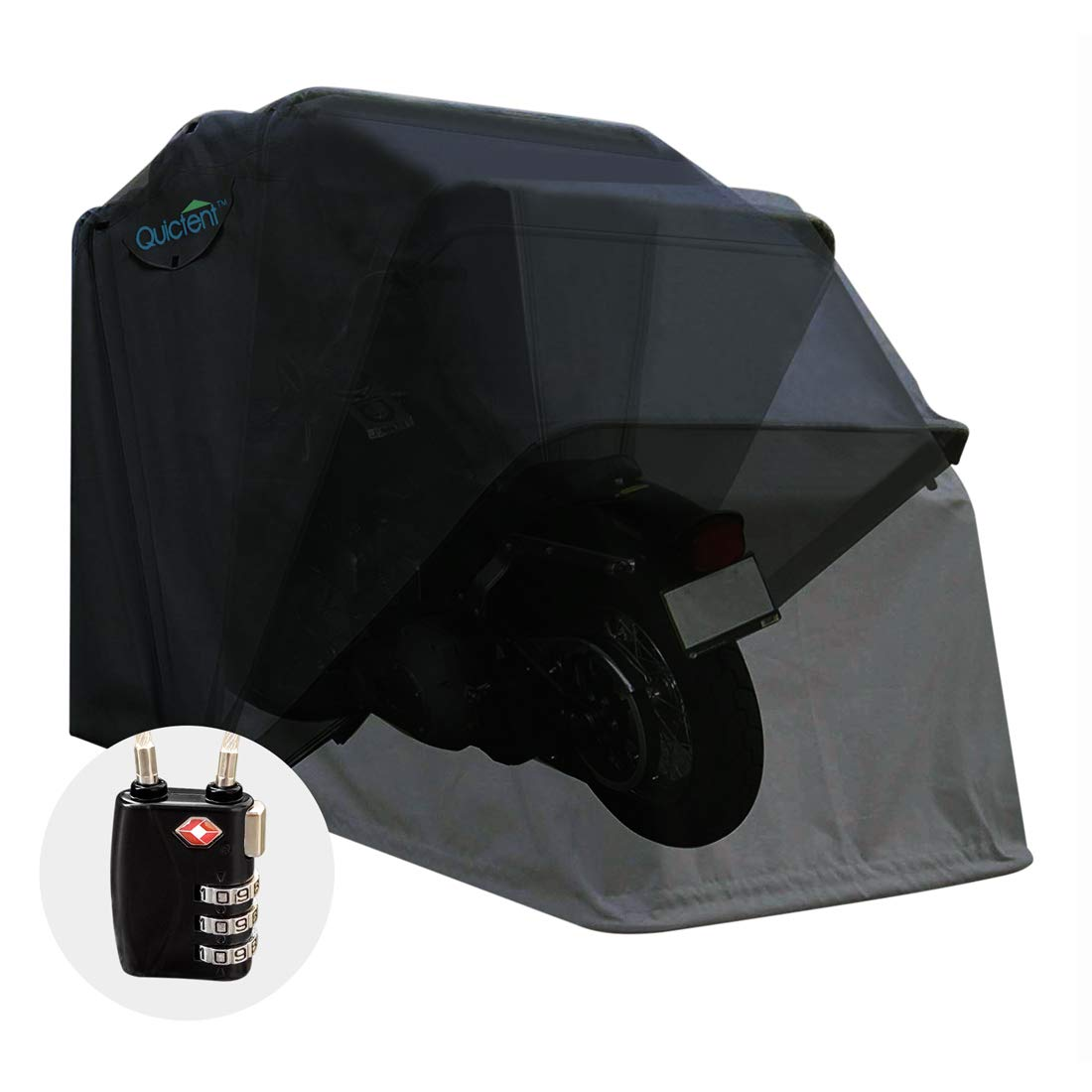 Quictent Heavy Duty Motorcycle Shelter Tent}