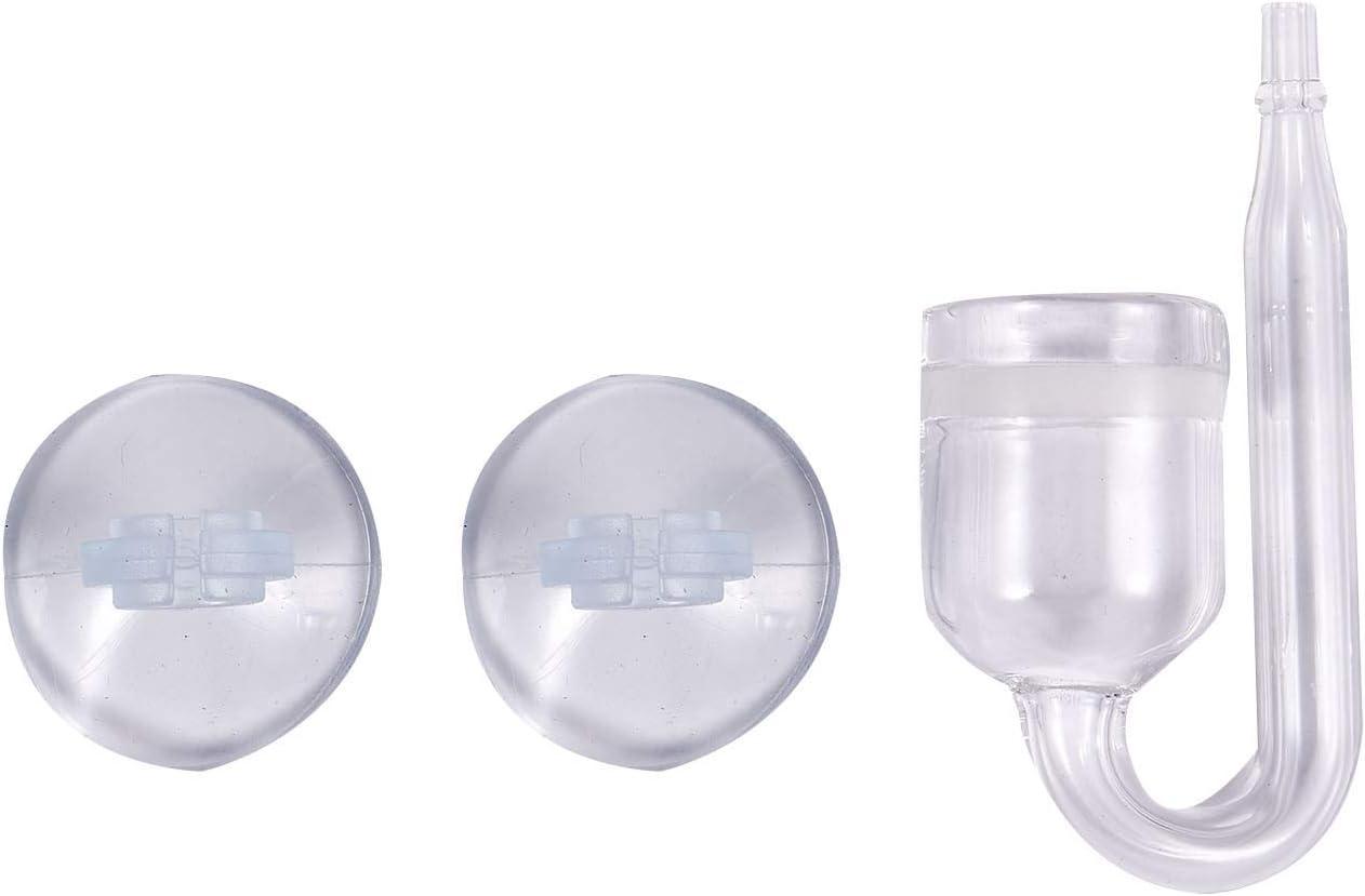 Adanse Acquario, diffusore di CO2, con disco in ceramica + 2 ventose?