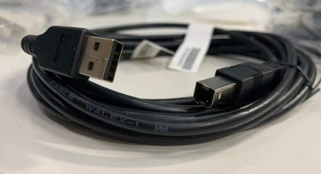 USB Cable 4m 13.12 FT for Printers Type A to Type B Scanners Black