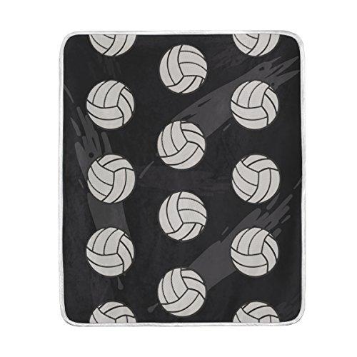 Vantaso Blankets Throws Soft Sport Volleyball Seamless Kids Girls Boys 50x60 inch