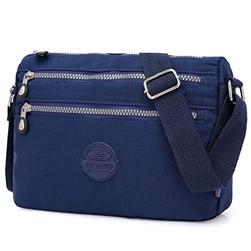 STUOYE Small for Bags Multi with Navy Crossbody Women Pockets Blue Hobo Bag Shoulder gIUgrqx