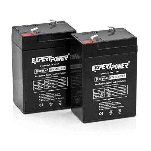 expertpower expertpower 6 volt 4 5 amp rechargeable. Black Bedroom Furniture Sets. Home Design Ideas