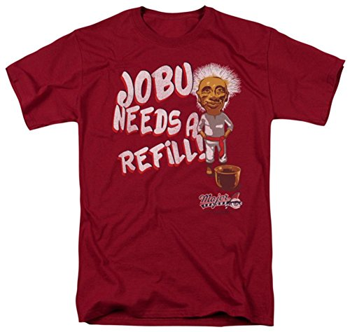 Major League - Jobu Needs A Refill T-Shirt Size XL