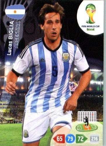 Amazon.com: 2014 FIFA Panini Adrenalyn World Cup Soccer Card ...