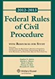 Federal Rules of Civil Procedure with Resources for Study 2012-2013, Subrin, Stephen N. and Minow, Martha L., 1454810882