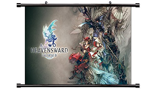 Final Fantasy XIVVideo game Wall Scroll Poster  Inches
