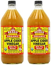 Bragg Organic Apple Cider Vinegar, 0.946 L … (Organic Apple Cider Vinegar, 2 Pack)