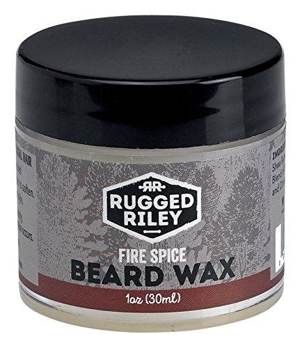 Feu Spice barbe cire masculine naturelle robuste Riley All