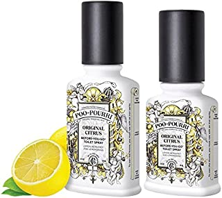 product image for Poo-Pourri Before-You-go Toilet Spray, 2 and 4, Original Citrus Scent