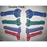 Powerlifting Exercise Bands Double Pack 8 Bands