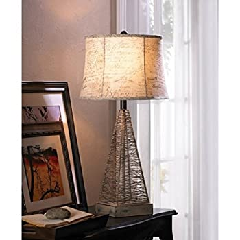Zingz and Thingz Metal Hatch Table Lamp