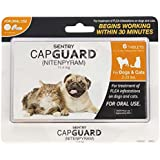 Sentry CapGuard Flea Tablets for 2 to 25-Pound Dogs and Cats
