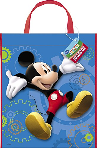 Large Plastic Mickey Mouse Goodie Bag, 13
