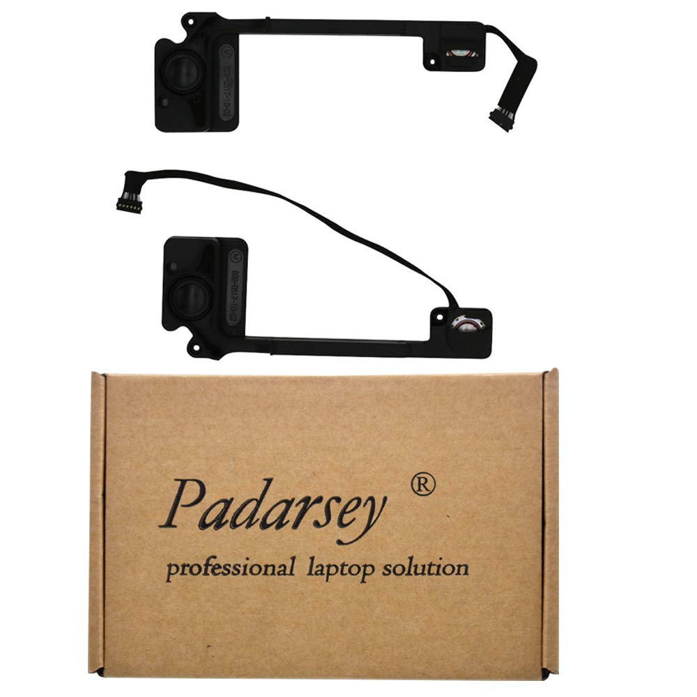 Padarsey Replacement Internal Left and Right Speaker Fit for MacBook Pro 13'' Retina A1502 2013 2014 2015
