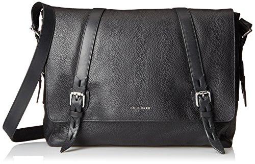 leather messenger bag cole haan - 6