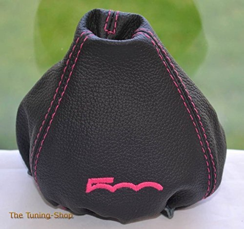 The Tuning-Shop Ltd MANUAL LEATHER GEAR GAITER Manual Gear Ghetta in Pelle Nera