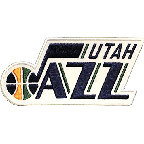 Official Utah Jazz Logo Large Sticker Iron On NBA Basketball Patch Emblem by Patch Collection