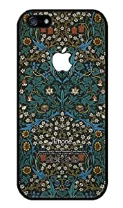 iZERCASE Different Flowers Pattern iPhone 5 / iPhone 5S RUBBER case - Fits iPhone 5, iPhone 5S T-Mobile, AT&T, Sprint, Verizon and International