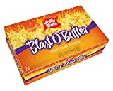 JOLLY TIME Blast O Butter  Ultimate Movie Theater Style Microwave Popcorn with Extra Buttery Flavor Palm Oil Salt and Non GMO Kernels Bulk 24-Count Box