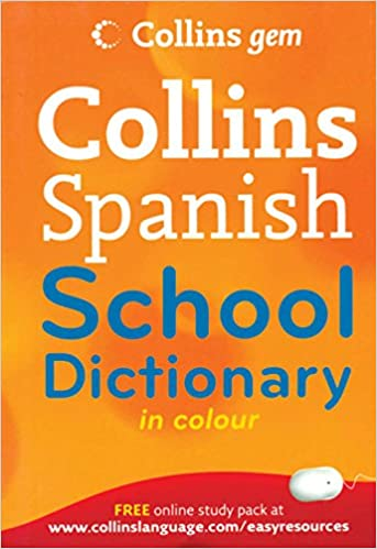 Collins Spanish School Dictionary in Color: Collins