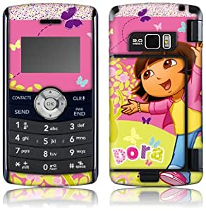 MusicSkins, MS-DORA10034, Dora The Explorer - Butterfly, LG enV3 (VX9200), Skin